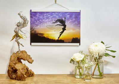 A3 Print Anemoi Wooden Frame