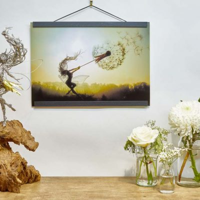A3 Print Dancing with Dandelions