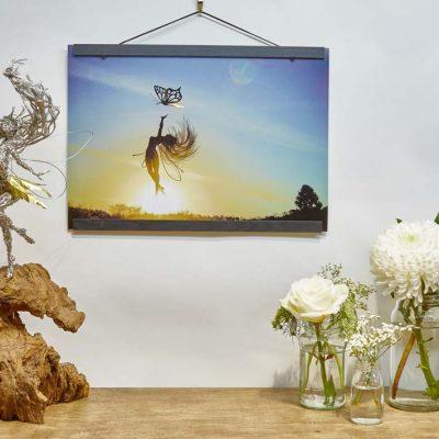 Anahi A3 Print wooden frame