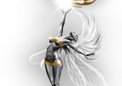 Anahi fairy drawing