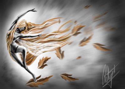 wind dancer artwork
